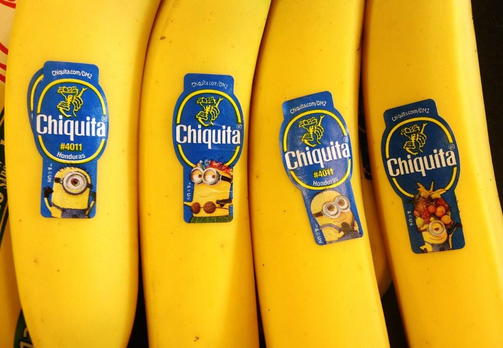 Chiquita Bananas Minions Chiquita Bananas Minions Stickers Flickr