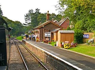 RD1240.  Crowcombe Heathfield on the West Somerset Railway.
