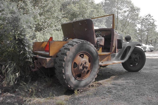 Doodlebug tractor (9649)
