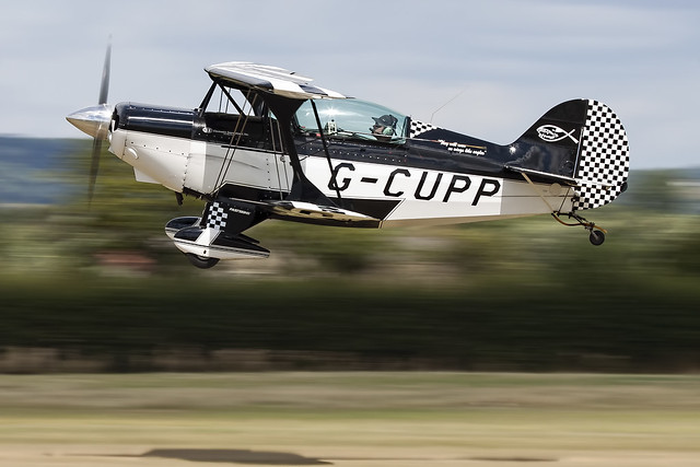 Pitts S-2A Special. G-CUPP.
