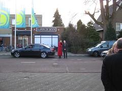 opening lijn 503, aankomst genodigden van Prov. Gelderland