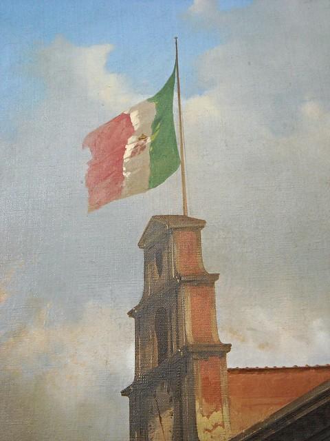 Italian Flag (Detail) -