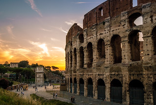 Rome sunset | by G.Alonso