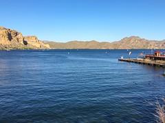 Saguaro Lake (what happens when you dam the Salt River)