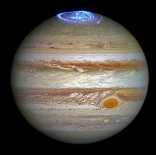 Hubble Captures Vivid Auroras in Jupiter's Atmosphere | by NASA Goddard Photo and Video
