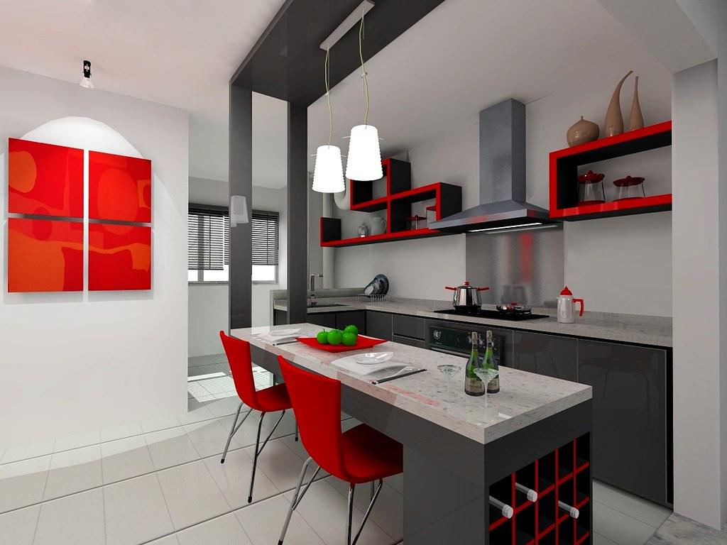 kitchen-1 | SketchUp Pro 8 + InteriCad T6--Design ...