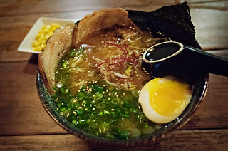 miso ramen @ the dojo | by p.lu