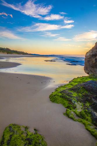 beach sunrise coast australia hungryhead