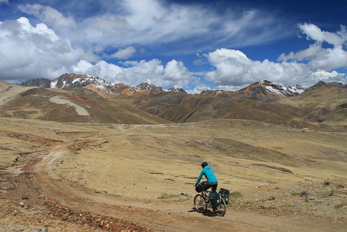 Descending from Paso Pacomayo | by Pikes On Bikes