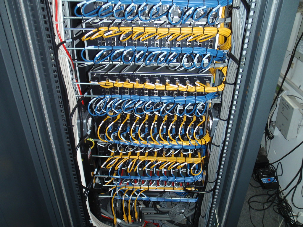 Work Neat Patch Their Patch Panel Is Neat And Tidy Gl5keith1500 2013 Flickr