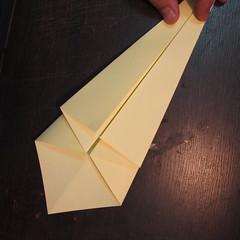 วิธีการพับกระดาษเป็นรูปหงส์ 004