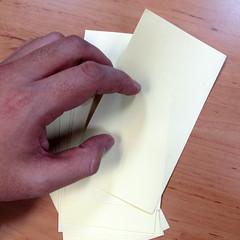 วิธีการพับกระดาษเป็นดอกบัวแบบแยกประกอบส่วน 002