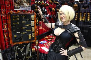 Lady Wolf Star (Vegas PG) as Iron Kingdoms Human Sorcerer Thief 2014 Amazing Arizona  Comic Con (AACC) | by gbrummett