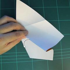 วิธีการพับกระดาษเป็นรูปกบ (แบบโคลัมเบี้ยน) (Origami Frog) 010
