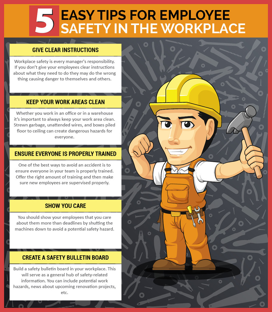 Office Workplace Safety Tips