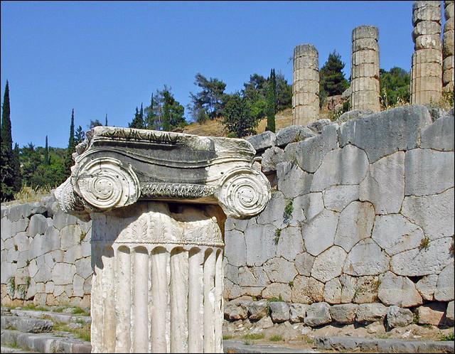 Le sanctuaire panhellénique de Delphes (Grèce)