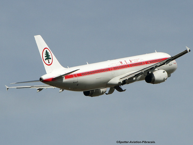 Middle East Airlines-MEA. Livery
