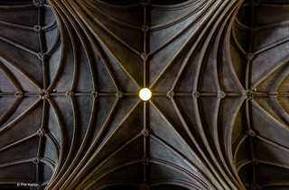 Knox College ceiling - Doors Open Toronto | by Phil Marion