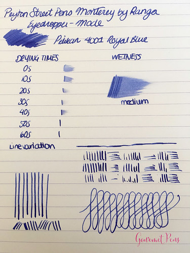 Review Peyton Street Pens Range Monterey Fountain Pen 066 | by GourmetPens