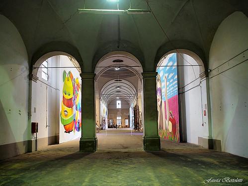 Cibus in Fabula streetart -Crociera Ospedale Vecchio -Parma-