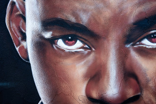 close up detail - Will Smith by TheOneLee - Houston Graffiti - GraffAlot Show 06/2013 - 008 | by @iseenit_RubenS | R.Serrano Photography