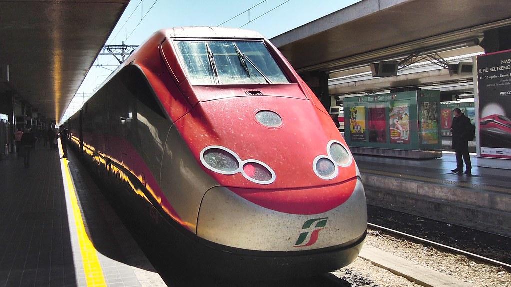 Trenitalia Frecciarossa, Roma Termini, Italy