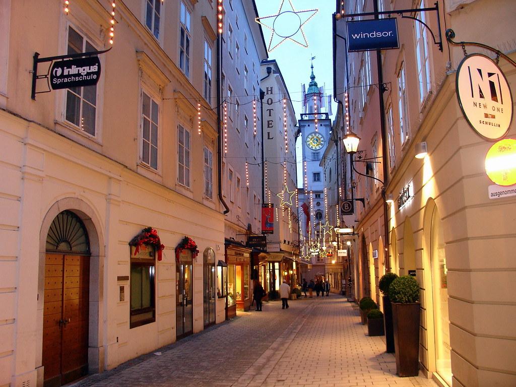 Salzburg old town | Salzburg old town streets | Iulian
