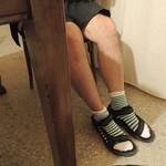 8- Telavi frio en los pies