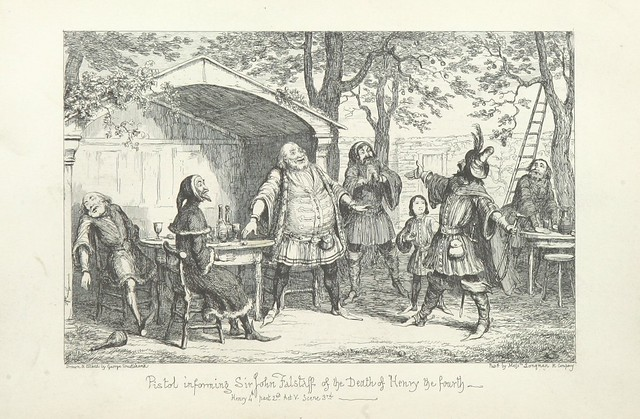 """British Library digitised image from page 256 of """"The Life of Sir John Falstaff"""""""