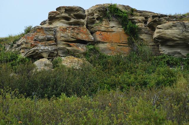 Head-Smashed-In Buffalo Jump Rock
