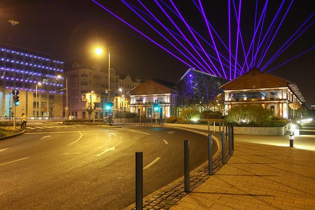 Budapest - Balna lasershow 3