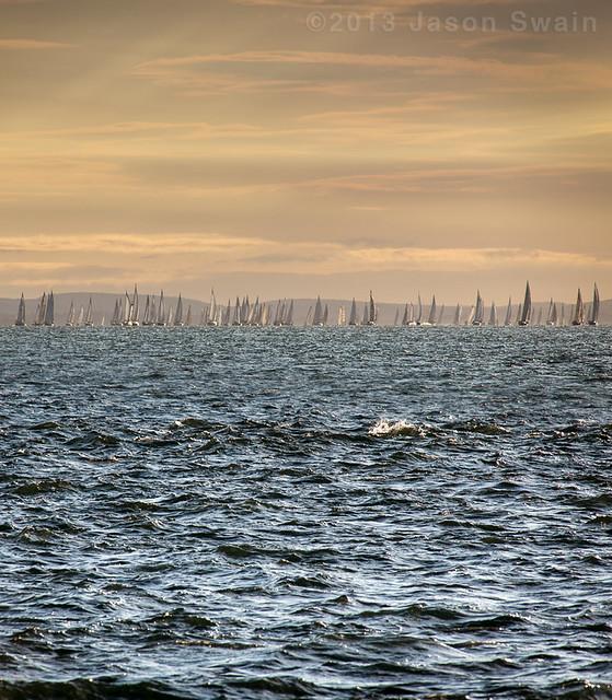 2013 Round the Island Race Vertorama (re-post)