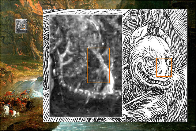 Zoomorphism at work: Monster Face