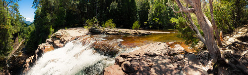 waterfall pano