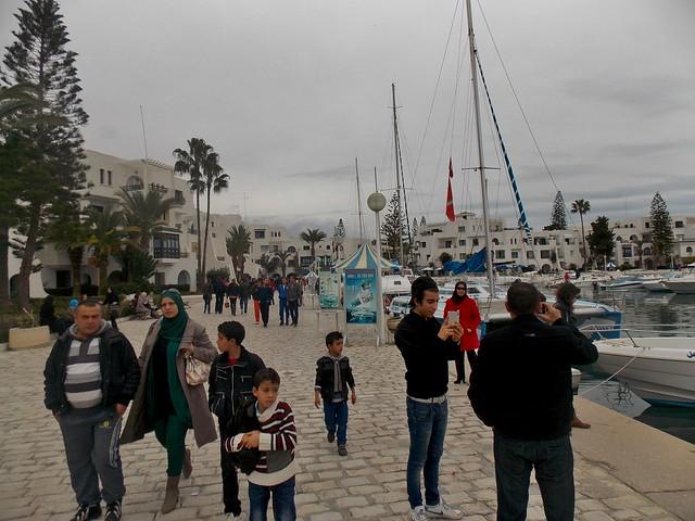 Port El Kantaoui near Sousse, Tunisia - December 2013