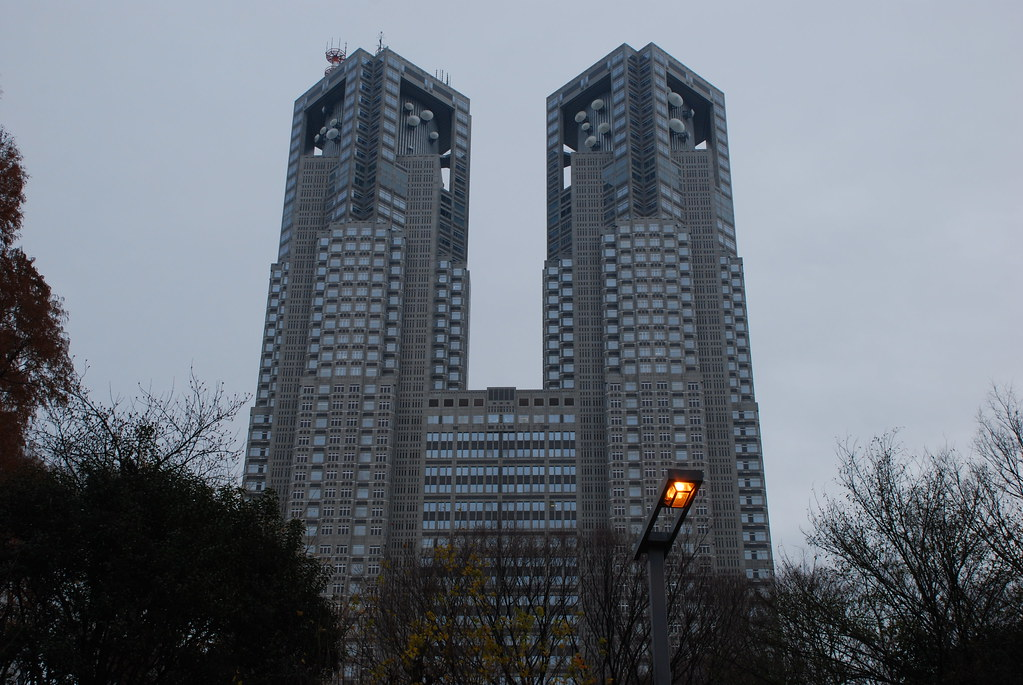 Tokyo Metropolitan Government Building (東京都庁), by Kenzo Tange (丹下健三)