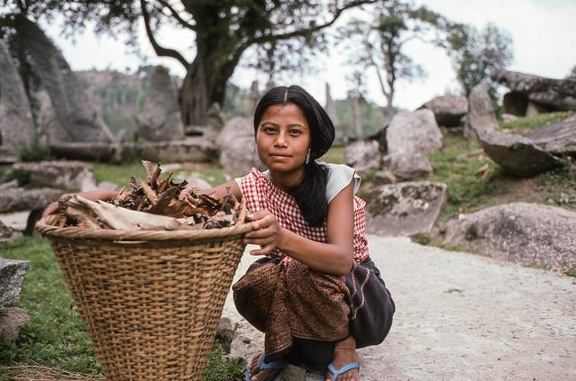Khasi Girl, Nartiang, Meghalaya, India 2006