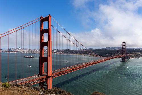 sanfrancisco california bridge goldengate puentes eeuu