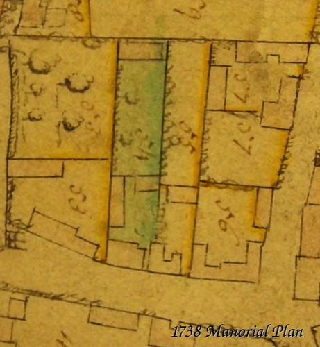 Church Street Manorial Plan 1738