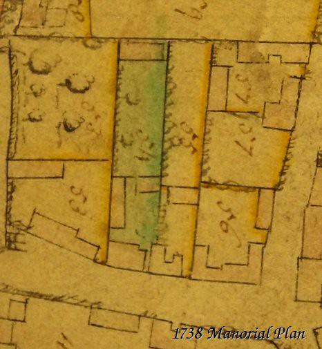 Church Street Manorial Plan 1738