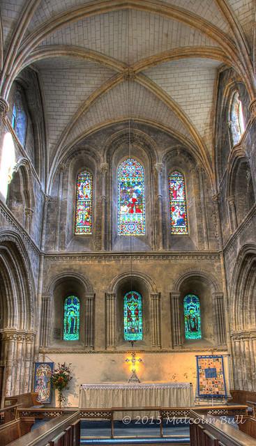Inside St. Mary de Haura