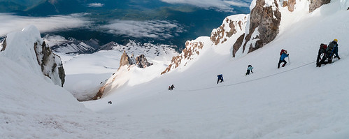 stitched pano from just below the summit ridge | by brookpeterson
