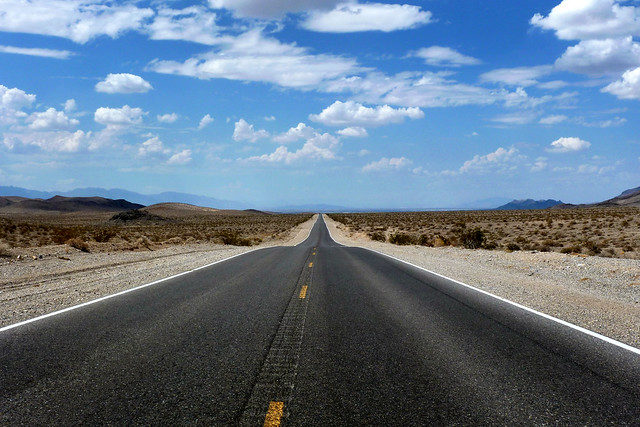 U.S. Route 190 Death Valley scenic byway - California