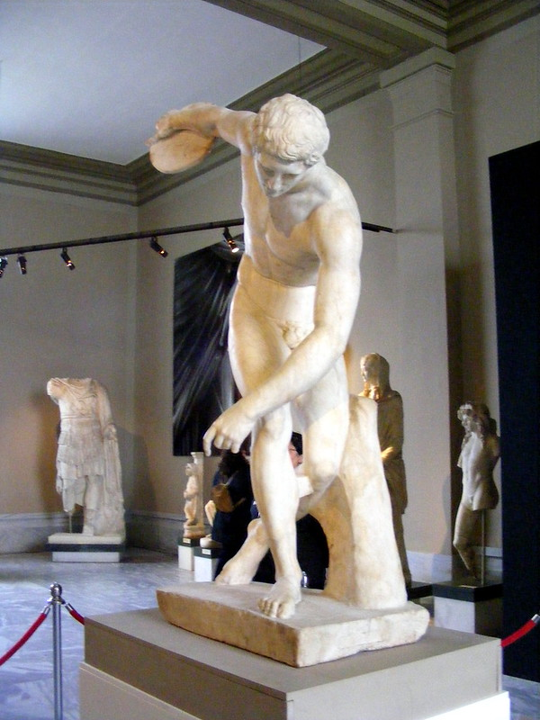 Discóbolo Museo Británico-Villa Adriana-011