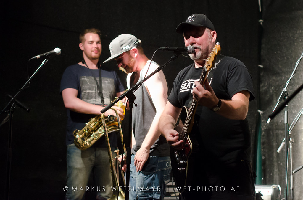 """US Ska band THE TOASTERS performing live as main act at Athletics Baseball Ballpark, Attnang-Puchheim, Austria on July 20, 2013.  NO USE WITHOUT PRIOR WRITTEN PERMISSION.  © Markus Wetzlmayr 
