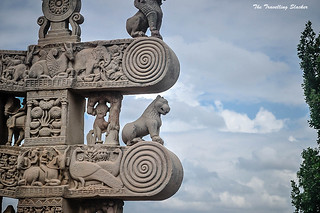 Sanchi Stupa  (32) | by travelling slacker