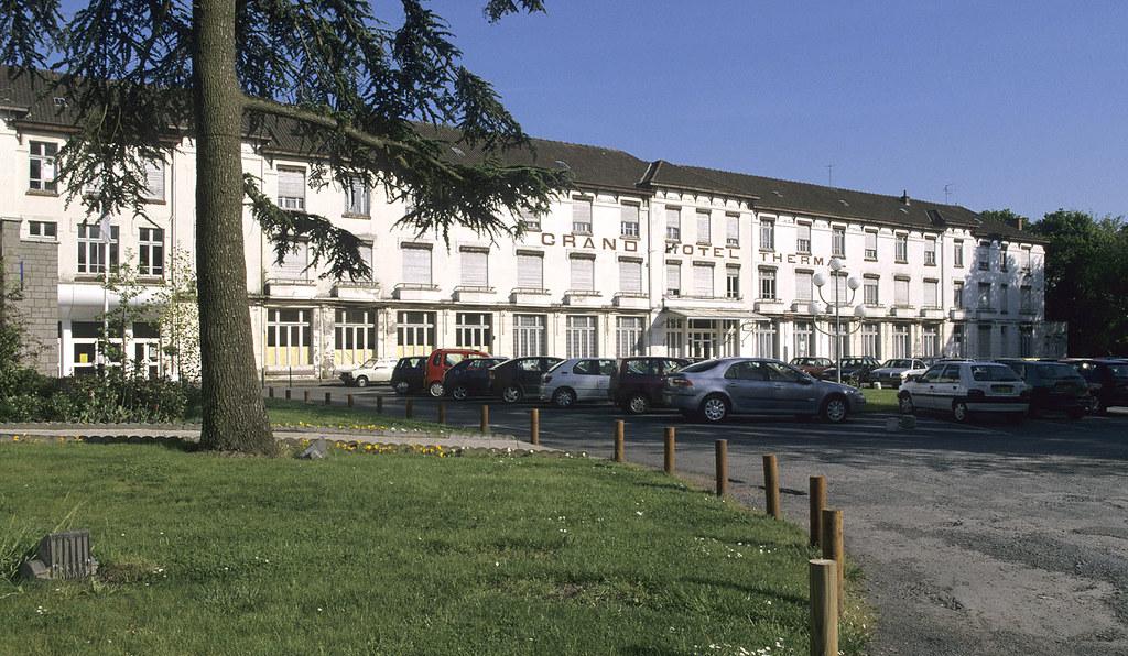 St-Amand-les-Eaux, centre thermal, Grand Hôtel