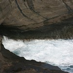 Spitting cave, Oahu