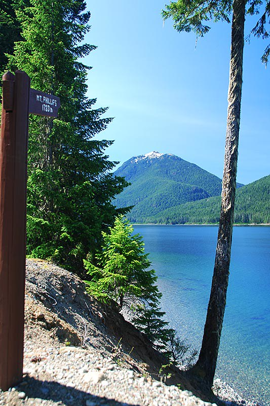 Mount Phillips, Strathcona Provincial Park, Central Vancouver Island, British Columbia, Canada