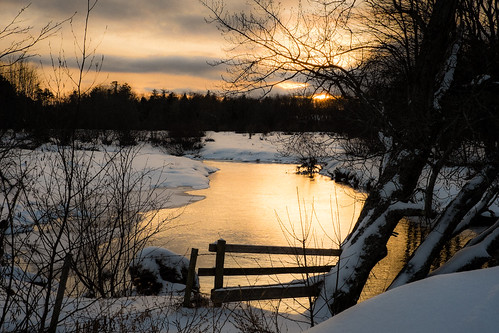 winter sunset snow canada novascotia cornwallisriver fujixe2